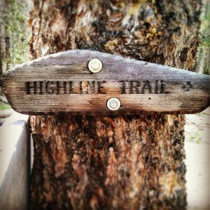 Highline Trail Marker