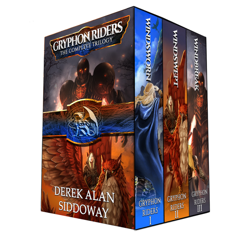Gryphon Riders Trilogy Boxed Set (Windsworn, Windswept, & Windbreak)