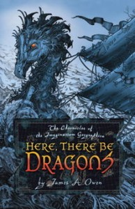 Here, There be Dragons cover